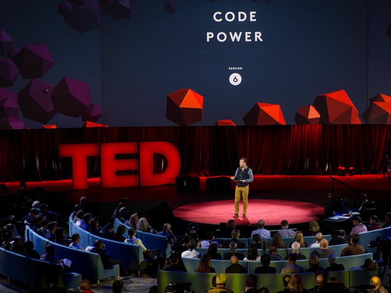 A business presentation isn't a TED talk